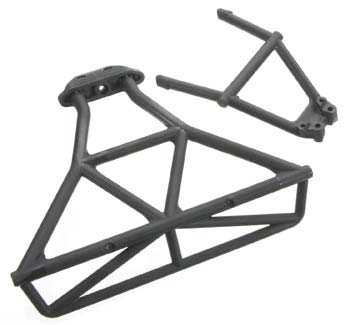 Traxxas Rear Bumper/Mount - Slash 4x4 6836
