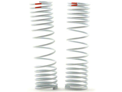 Traxxas Springs, Rear (Progressive, -20% Rate, Orange) (2) - Slash 4X4 6865