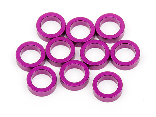 Image Of Hot Bodies Aluminum Washer 4x6x2.0mm (purple/10pcs)