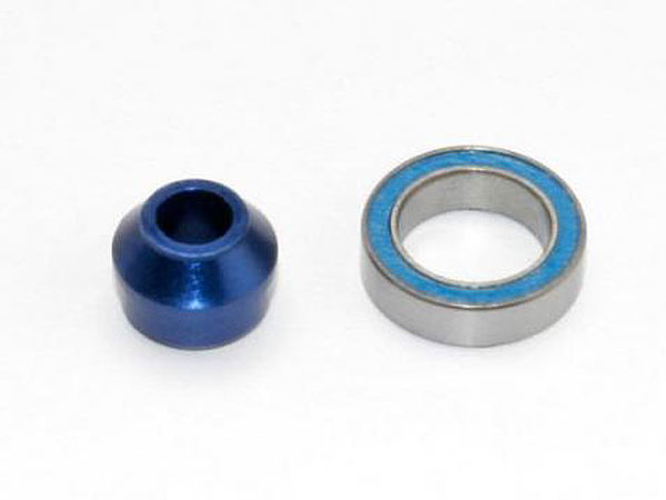 Traxxas Bearing Adapter - 6160-T6 Aluminum (Blue-Anodized) (1) 6893X