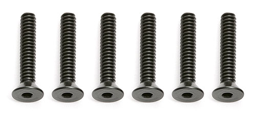 Image Of Associated 4-40 X  5/8 Flat Head Screw