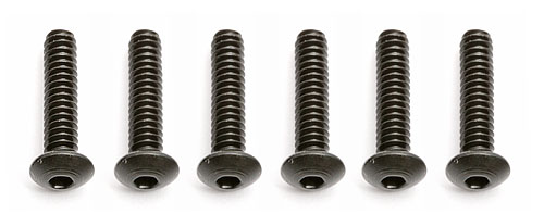 "Associated 4-40x1/2"" Button Head Allen Screw AS6918"