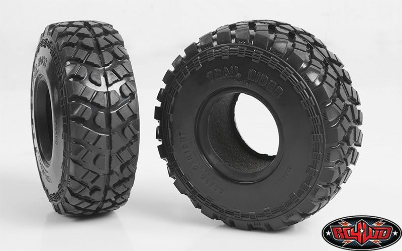 RC4WD ZT0136 Trail Rider 1.9 Offroad Scale Tires 