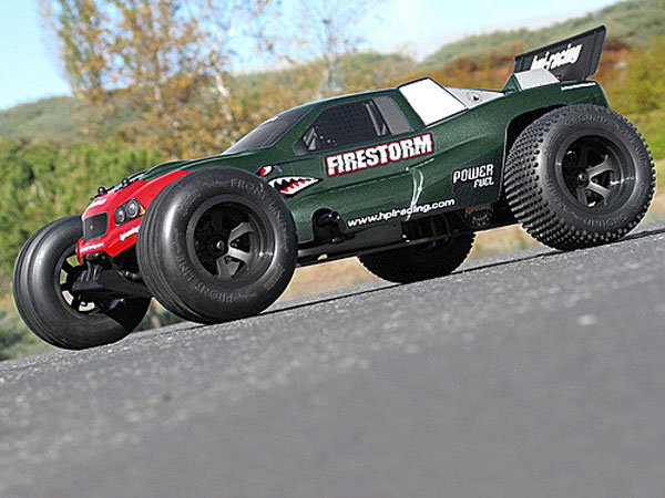 HPI Dsx-1 Truck Clear Body 7123