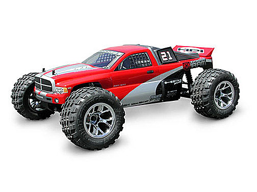 HPI Dodge Ram Truck Body (nitro Mt/rush) 7173