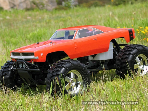 Hpi 1969 Dodge Charger Body 7184
