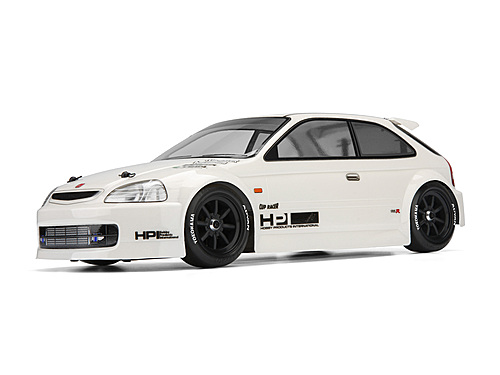 hpi honda civic type r ek9 body 7216. Black Bedroom Furniture Sets. Home Design Ideas