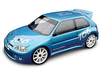 HPI Peugeot 106 Gti Body (190mm) 7241