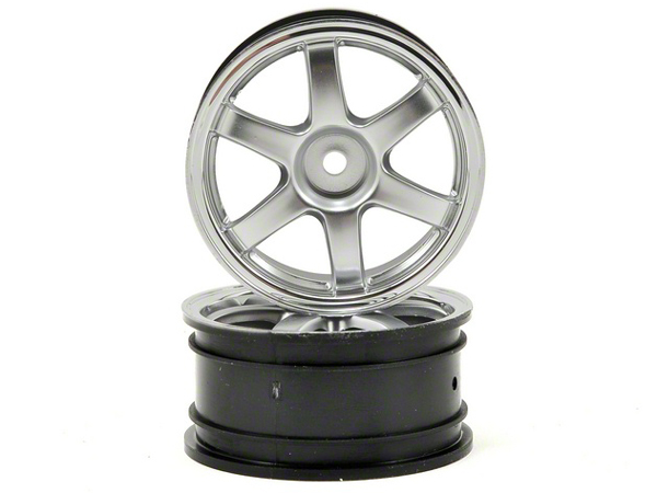 Traxxas 1/16 Rally Wheels - Volk Racing TE37 - Satin Chrome 7374X