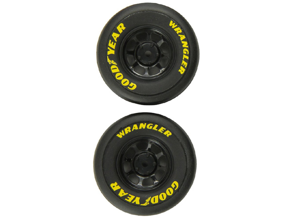 Traxxas Wheels and Tyres Pre Glued Goodyear Wrangler 1.9 1/16 On Road 7378