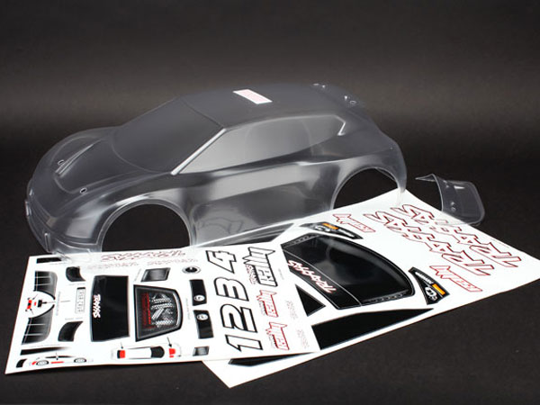 Image Of Traxxas 1:10 Rally Car Body (Clear, Requires Painting)