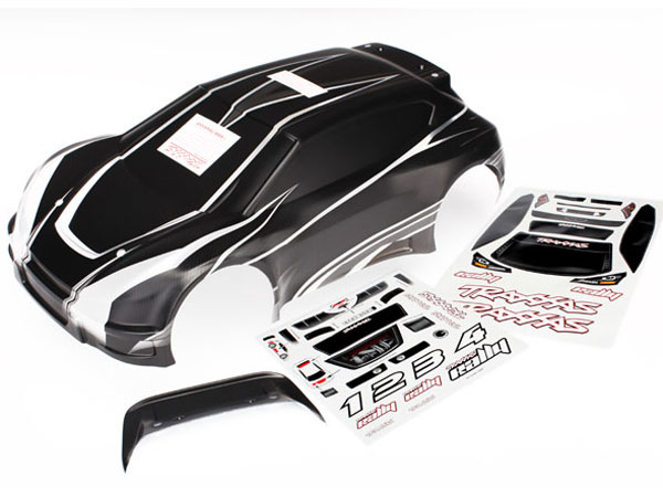 Traxxas 1:10 Rally ProGraphix Pre-Printed Car Body 7411X