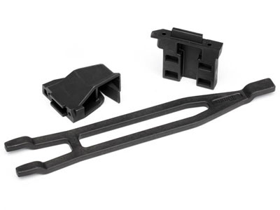 Traxxas Battery Hold-Down Expansion Front/Rear (Tall) 1/10th Rally/Slash 4x4 LCG 7426X