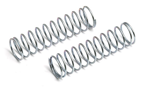 Image Of Associated Front Springs - Silver