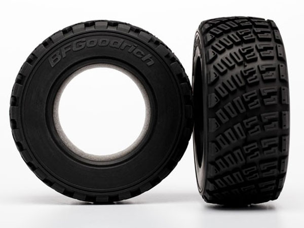 Image Of Traxxas Tires, BFGoodrich Rally, gravel pattern (2)/ foam inserts (2)
