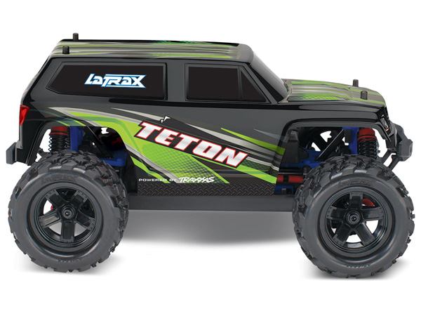 2e0b844cf6 La Trax Teton 1/18 Scale 4WD Monster Truck (Green) TRX76054-1 ...