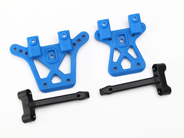La Trax Shock Tower Front And Rear w/ Brace 7637