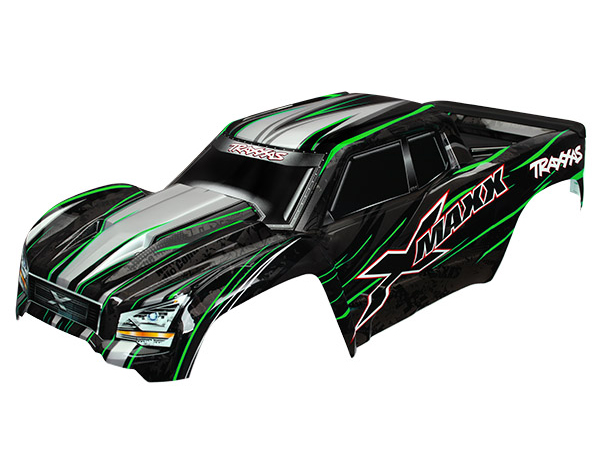 ../_images/products/small/Traxxas X-Maxx Painted Bodyshell - Green