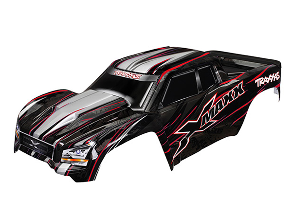 Traxxas X-Maxx Painted Bodyshell - Red 7711R
