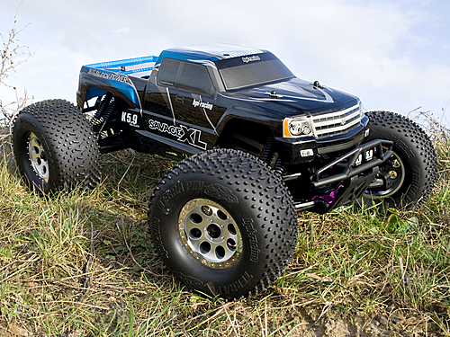 HPI Gt Gigante Truck Painted Body (blue) 7750
