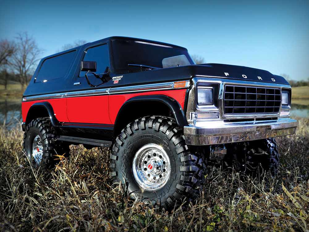 traxxas ford bronco ranger trx 4 red trx82046 4 red. Black Bedroom Furniture Sets. Home Design Ideas