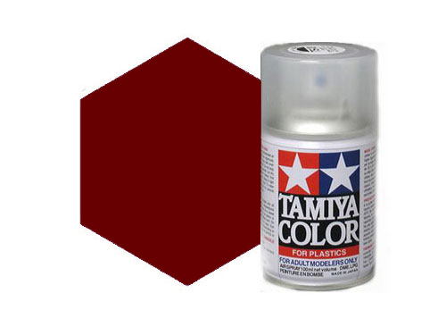 Tamiya TS-33 Dull Red Acrylic Spray 85033