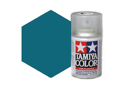 Tamiya TS-54 Light Metallic Blue Acrylic Spray 85054