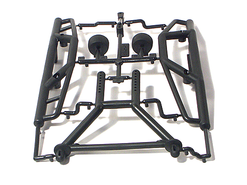HPI Bumper Set/long Body Mount Set 85059