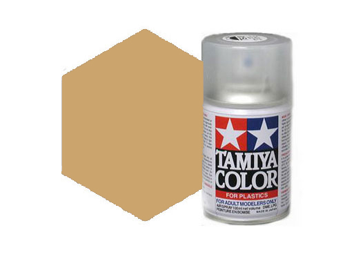 Tamiya TS-68 Wooden Deck Tan Acrylic Spray 85068