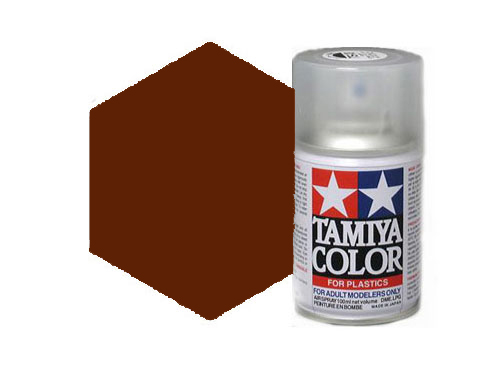 Tamiya TS-69 Linoleum Deck Brown Acrylic Spray 85069