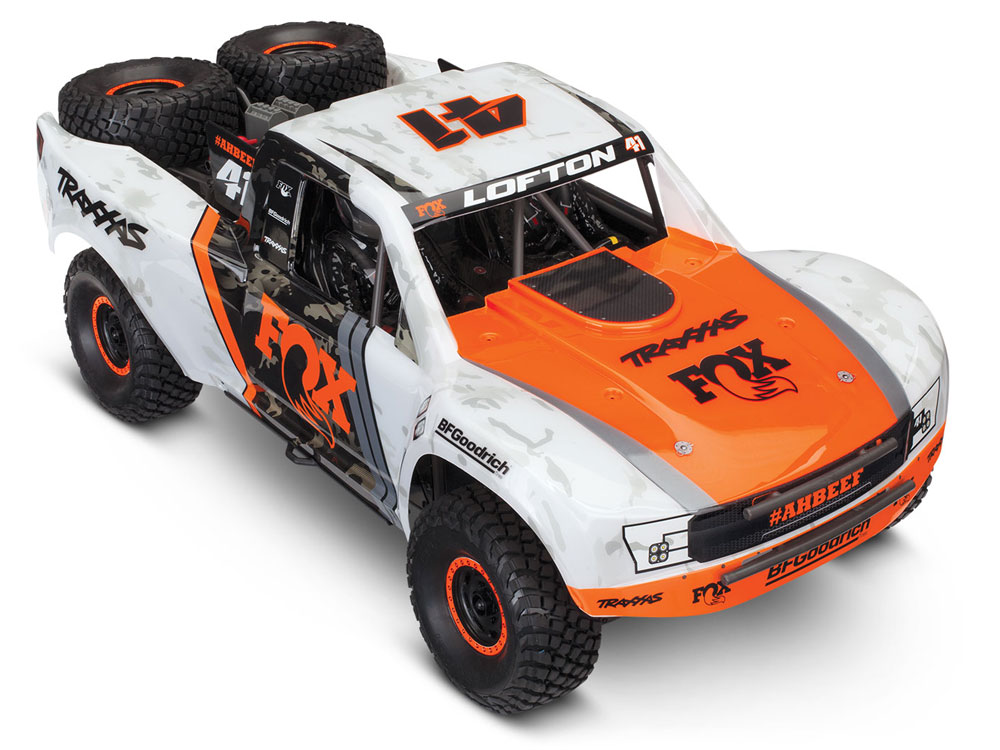 Traxxas UDR Unlimited Desert Racer 4WD - Orange TRX85076-4-FOX
