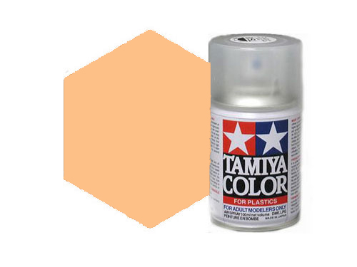 Tamiya TS-77 Flat Flesh 2 Acrylic Spray 85077