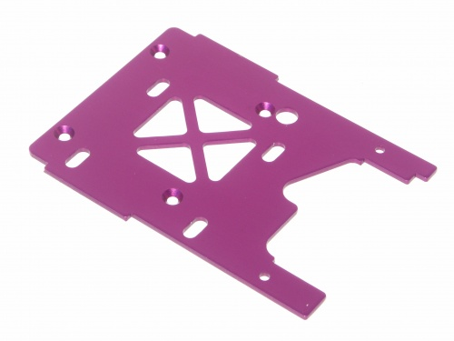 HPI Engine Plate 2.5mm (purple) 86069