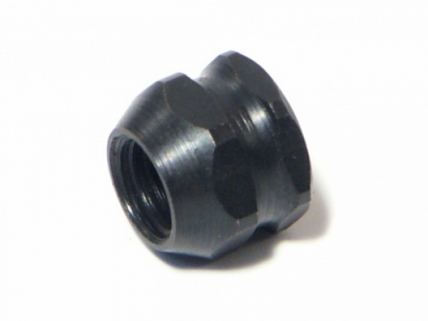 HPI Pilot Nut 1/4-28x8.5mm (black/1pc) 86076