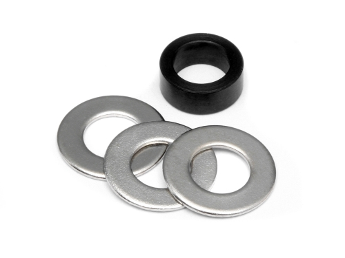 HPI Metal Spacer Set 5x7.5x3mm 86171