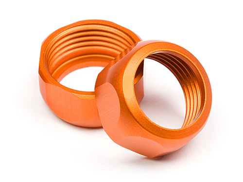 HPI Shock Cap 10mm (orange/2pcs) 86273