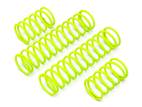 HPI Shock Spring Set 23x155x2.3mm 17.5coils (yellow) 86760