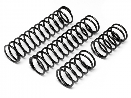 HPI Shock Spring 23x155x2.4mm 17.5 Coils (black/2pcs) 86762
