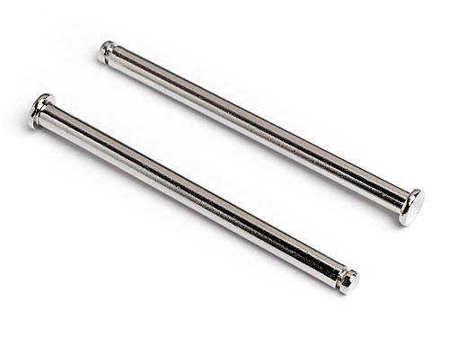 HPI Flange Shaft 3x45mm (silver) 86942
