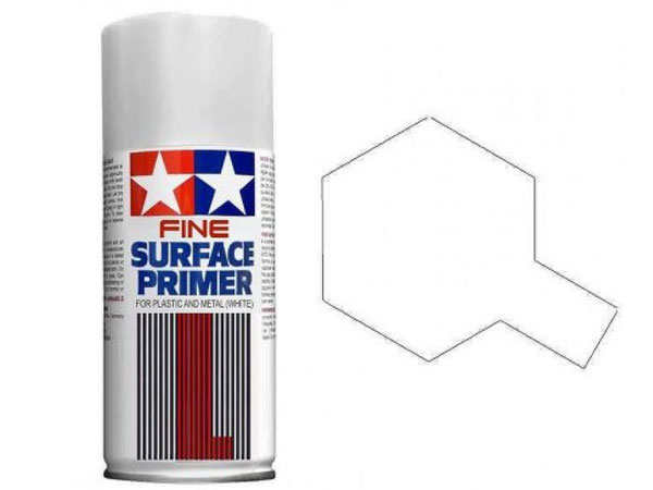 Image Of Tamiya Fine Surface Primer - White