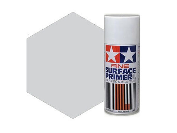 Image Of Tamiya Fine Surface Primer - Light Gray