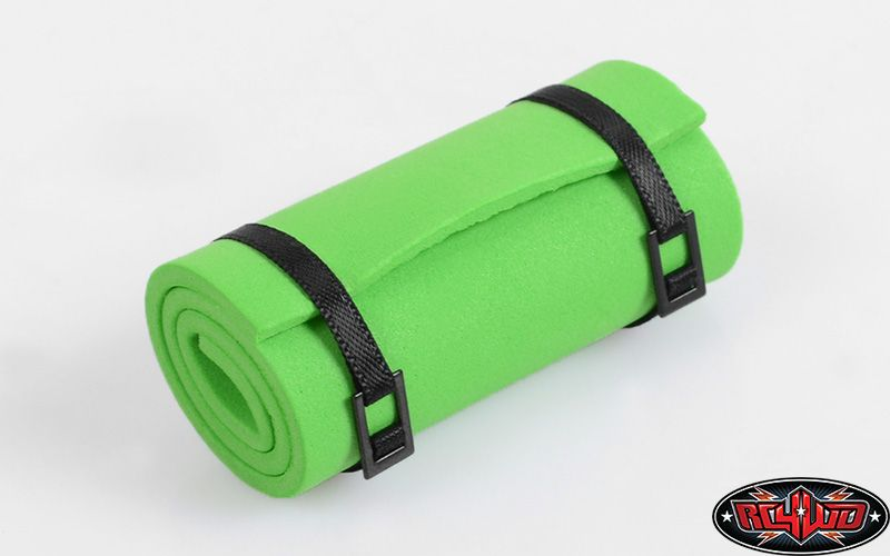 RC4WD ZS1300 1/10 Sleeping Mat w/Straps (Green) 
