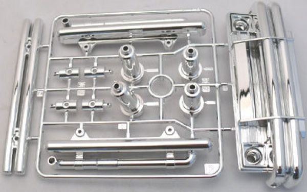 Image Of Tamiya Plastic C Parts - Lunch Box