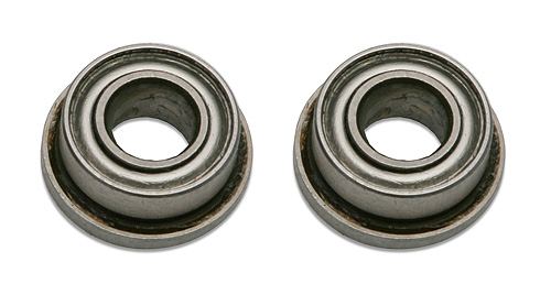 Image Of Associated Bearings 1/8 x 1/4 Flanged BB for B2 servo saver bellcrank
