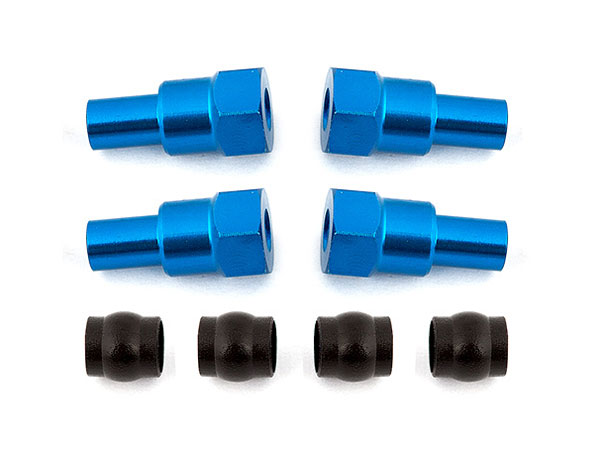 Associated B6/B6D Shock Bushings, Long AS91720