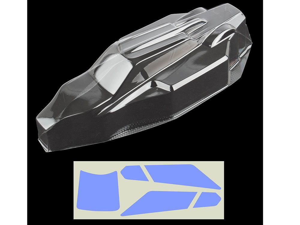 Associated B6/B6D Body Clear AS91739