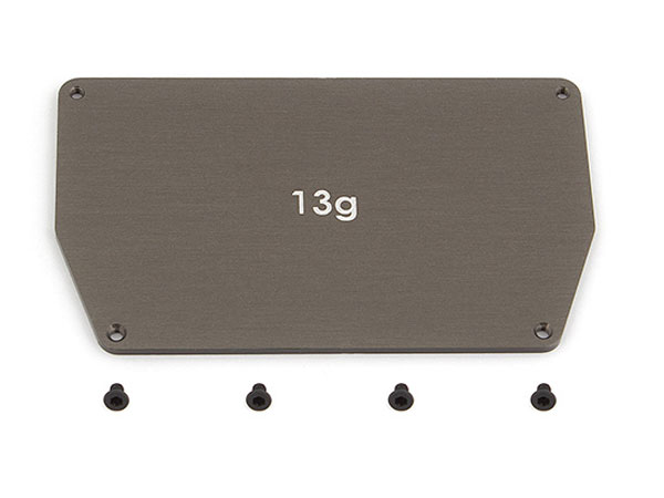 Associated B6/B6D Aluminum Chassis Weight 13G AS91746