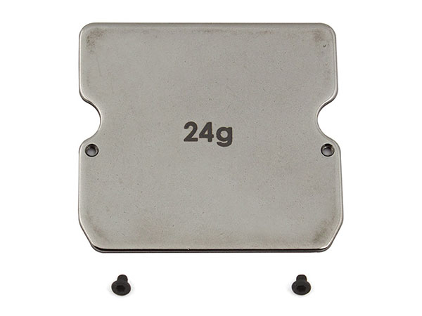 Associated B6/B6D Steel Chassis Weight 25G AS91747
