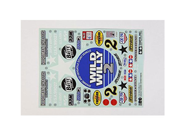 Tamiya Wild Willy 2 Stickers 9495329