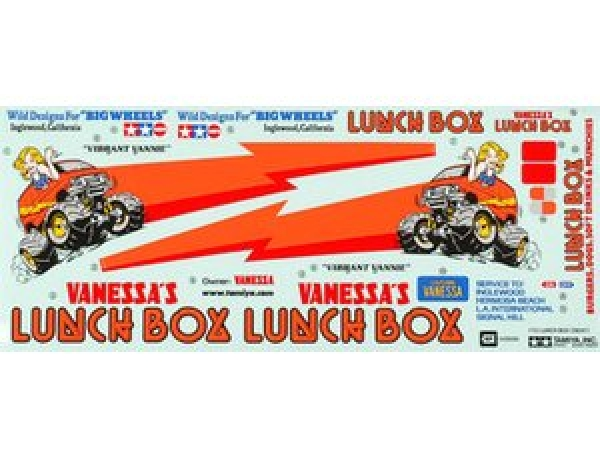 Tamiya Lunch Box Stickers 9495470